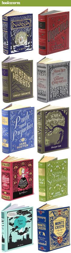 New Barnes and Noble editions! I would love the copy of Peter Pan, The Chronicles of Narnia, or To Kill A Mockingbird