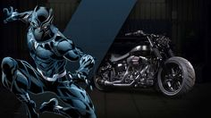 Marvel and Harley Davidson Join Forces To Create 27 Superhero-Themed Motorcycles