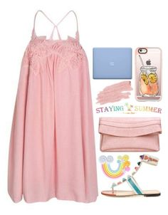 """""""Stayingsummer 1"""" by emilypondng ❤ liked on Polyvore featuring Casetify, Rad+Refined, Jane Iredale and stayingsummer"""