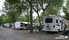 Brookside Campsite in Cache Creek Campsite, Recreational Vehicles, Canada, Van, Camping, Vans, Campers, Motorhome