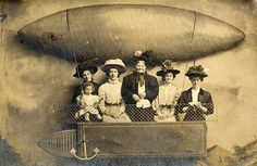 Wouldn't this be cool for a photobooth backdrop? Build the box, draw the zeppelin.