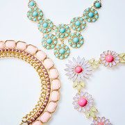 Take a look at the The Bold & The Beautiful: Necklaces event on #zulily today!  really reasonable prices {like $10}