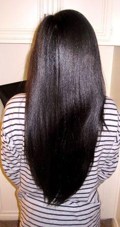 35 New Long Relaxed Hair Long Relaxed Hair, Relaxed Hair Journey, Healthy Relaxed Hair, Healthy Hair, Permed Hairstyles, Straight Hairstyles, Relaxed Hairstyles, Easy Hairstyles, Black Hairstyles