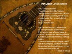 Wedding Reading: From Captain Corelli's Mandolin - Charlottesville Wedding Blog
