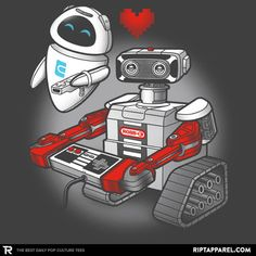 ROBB•E T-Shirt - Wall-E T-Shirt is $11 today at Ript!