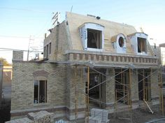 New home construction - building
