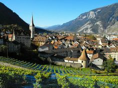 Chur, Switzerland - I still have family here. Can't wait to get back.