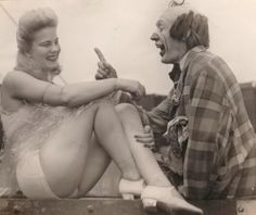 Old circus photo