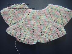 Agulhas Coloridas Croche e Trico: PAP do Casaquinho de bebe croche-21