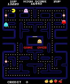 PacMan #80s #memories this so reminds me of when the house was full. All the kids still home. Mary loved this game. Oh the memories are sweet....