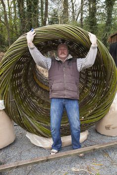 Bottom view of giant willow bell, Lee Southall Birmingham 2015