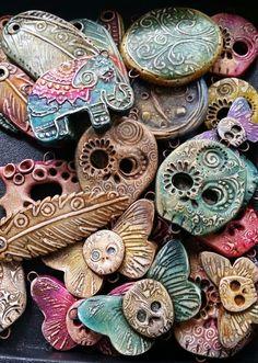 polymer clay decoration
