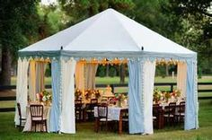Wedding Tent, Outdoor Event, Dinner Party