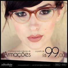 Aproveite!! Estamos com armações a partir de R$99,00 em até 10x sem juros, acesse o site aoculista.com antes que acabem os estoques  #armações #armação #aoculista #sunglasses #oculosdesol #glasses #fashion #women #chic #oculos #summer #armacao