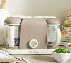 STEAMER BLENDR WARMER AND DEFROSTER FROM POTTERY BARN $199 Béaba Pro 2X Baby Food Maker #pbkids