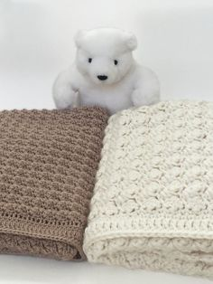 Chunky Crochet Baby Blanket would be a dreamy addition to any nursery. It has options to make it super thick with bulky yarn or more delicate with dk weight yarn.  ♥ This is a beautiful, thick and textured blanket. It would be lovely in a babys room or made larger and thrown across the couch. This is a CROCHET PATTERN listing, not the physical baby blanket.  ♥ The stitches are simple and repeated so it is perfect for any level of crochet. The border simply frames the beautiful pattern…