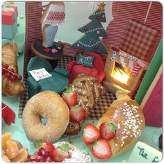 Santa's GIFT Today #Christmas #Greeting #christmasbreakfast ... I love our #new Double Floor #breakfast#doorBiscuit#RedDoor#Cookies#chistmashouse#santa#christmasgift #Dolls#Chococale#croissant#muffin#sfogliatella#funny#redDoor#Biscuit#sofacupcakes #cupcakes#cornetto#ballerina#MashmellowTree#Smarties#colazione#sessaspecialeventandcakes #sessaartigianidelgusto#Chimney##SittingRoom#AirmChairCupcake#donuts#ChristmasTree#Pomegrade