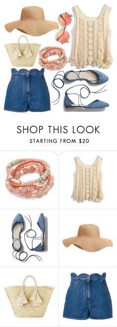 """""""picnic in the park"""" by scandalin2 ❤ liked on Polyvore featuring Shashi, Chicwish, Gap, Old Navy, Giselle and Valentino"""