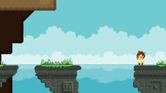 """RELICA - Watching the world go by - Level design, relica - [""""Just a gif of an environment from my WiP demo""""] Pixel Animation, Environment, World, Movie Posters, Movies, Films, Film Poster, Cinema, The World"""