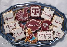 Aggie Ring Day Cookies | Cookie Connection