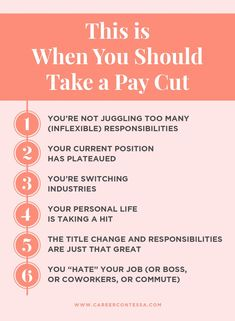 Here's a hard pill to swallow. Salary isn't everything. Sometimes, taking a pay cut can be the best decision you make for the future of your career. Here's why.