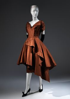 Charles James (American, born Great Britain, 1906–1978). Evening dress, 1952. The Metropolitan Museum of Art, New York