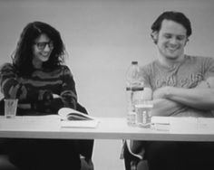 """""""Sam & Cait at the table read for episodes 3 & 4"""""""