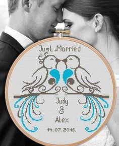 Wedding cross stitch pattern by NikkiPattern http://etsy.me/2r8EfAq?utm_content=buffer93c7f&utm_medium=social&utm_source=pinterest.com&utm_campaign=buffer via @Etsy
