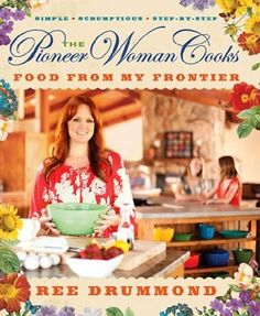 "What a perfect gift for someone who loves to cook! Colorful hardcover books by Ree Drummond! Our selection includes: ""Food From My Frontier"", ""Dinnertime"", and ""A Year of Holidays""!"