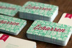 Retro business card #design cool