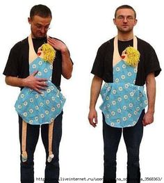 """""""Anna on the Neck"""" - turn your old dress into apron - idea #funny"""