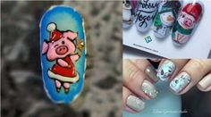 Choose your next yellow nail art from our selection of 70 pictures (they are sooooo cute ❤)! Pig Nail Art, Pig Nails, Cute Nail Designs, Cute Nails, Pretty Nails