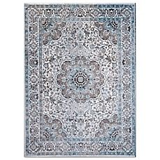 image of Home Dynamix Denim Traditional Bordered Area Rug