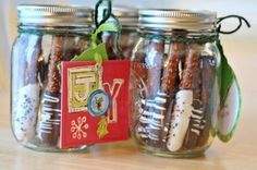 homeade thank yougift ideas | 10 EASY Last-Minute Homemade Christmas Gifts