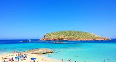 If you are looking for the trendiest beaches in Spain come to Ibiza Beaches Ibiza is the third in size of the Spanish Balearic Islands. The others are Majorca, Minorca and Formentera San Antonio Ibiza, Playa Den Bossa, Beach Shade, Ibiza Beach, Tourism Website, Balearic Islands, Beautiful Beaches, Places To See, Spanish