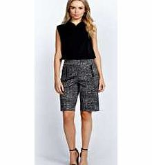 boohoo Alisha Flecked Zip Longer Length City Shorts - Boyfriend shorts are the new shape on the block and we love these flecked city shorts as an androgynous option for the office. Well be wearing them with with a blouse , polished pointed court heels an http://www.comparestoreprices.co.uk/dresses/boohoo-alisha-flecked-zip-longer-length-city-shorts-.asp
