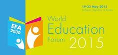 Fórum Mundial da Educação será sediado em Incheon