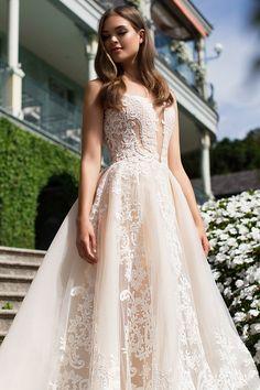 Milla Nova Bridal Wedding Dresses 2017 / http://www.himisspuff.com/milla-nova-bridal-2017-wedding-dresses/28/