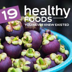 19 Healthy Foods How many do YOU like? ❥➥❥