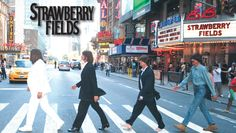 If you couldn't get enough of the Beatles pow-wow at the Grammy Awards and missed the Beatles Fest in NYC – we have the next best thing to Ringo Starr himself. Well, maybe. Nyc Holidays, Tony Award Winners, New York City Ny, Summer Events, Events 2016, Strawberry Fields, John Lennon, The Beatles, Going Out