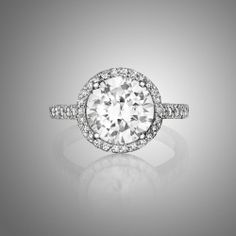 Solitaire Engagement Rings Pave 38