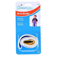 Dreambaby Wrist Buddy-Yellow F202 Keep your tot in sight when you re shopping, walking or travelling and still give them the feeling of independence. (Barcode EAN=9312742302023) http://www.MightGet.com/march-2017-1/dreambaby-wrist-buddy-yellow-f202.asp