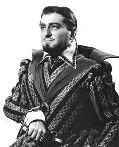 Robert Merrill, baritone as Rodrigo, Don Carlo 1950
