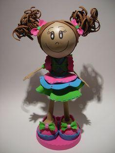 Bonecos 3D em EVA - 102498630180302518149 - Álbuns Web Picasa