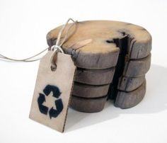driftwood coaster by railis design