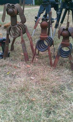 Spring dogs Scrap metal