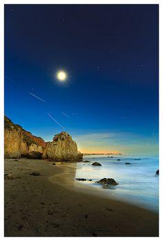 Matador Beach in California