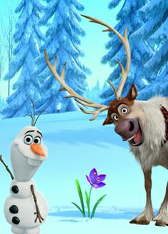 Which Disney Sidekick are you? - Olaf & Sven The Effective Pictures We Offer You About cartoon caricaturas A quality picture can te - Disney Magic, Disney Art, Disney Pixar, Disney Frozen Olaf, Sven Frozen, Frozen Movie, Images Disney, Disney Pictures, Olaf Pictures