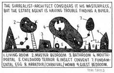 Surrealist Architect by Tom Gauld