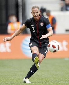 3df45ad2f4a Christie Rampone Captain of the US Women s National Soccer Team